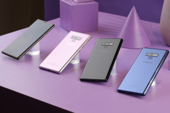 Samsung Galaxy Note 9 vs Apple iPhone X vs LG G7 ThinQ: Specs comparison