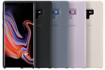 These are the Galaxy Note 9's official cases and charging accessories