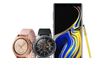 Samsung Galaxy Watch is announced in two sizes with LTE and multi-day battery life