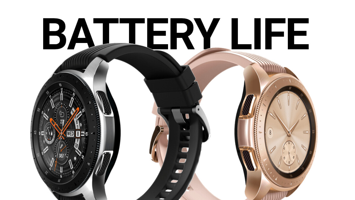 Which new Samsung Galaxy Watch to buy? The smaller one has much shorter battery life!