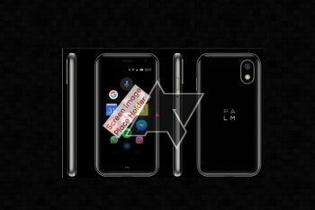Images and specs of Palm's new phone leak; device has small 3.3-inch display and tiny battery?