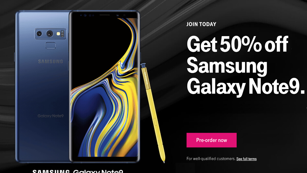 You can now pre-order the Samsung Galaxy Note 9 in the United States