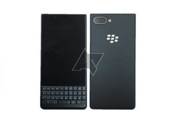Render of the lower priced BlackBerry KEY2 LE surfaces along with leaked specs