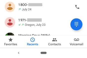 Google Phone and Contacts apps updated with new Material Theme design