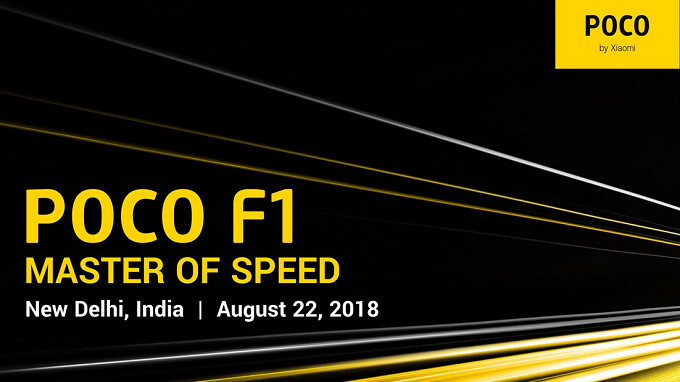 Xiaomi to unveil its first Poco branded phone, the F1, on August 22nd