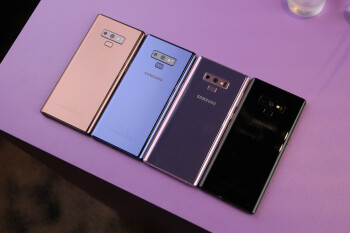 Which is your favorite Galaxy Note 9 color?