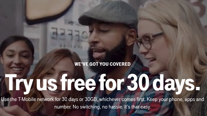 T-Mobile starts offering free 30-day network trials in specific U.S. locations