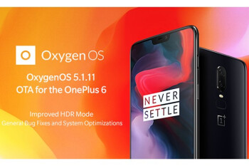 OnePlus 6 update adds improved HDR mode, fixes screen flickering issue