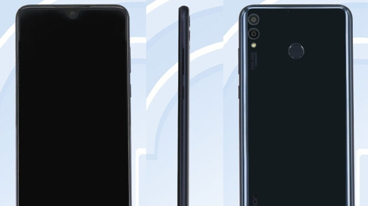 The Honor 8X could come with a tiny notch and huge screen