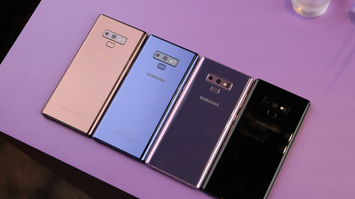 Take a hike, purple, blue is the best Note 9 color!