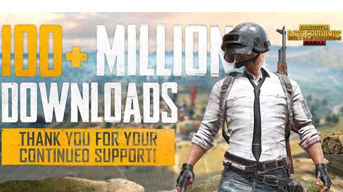 PUBG Mobile exceeds 100 million downloads on Android and iPhone