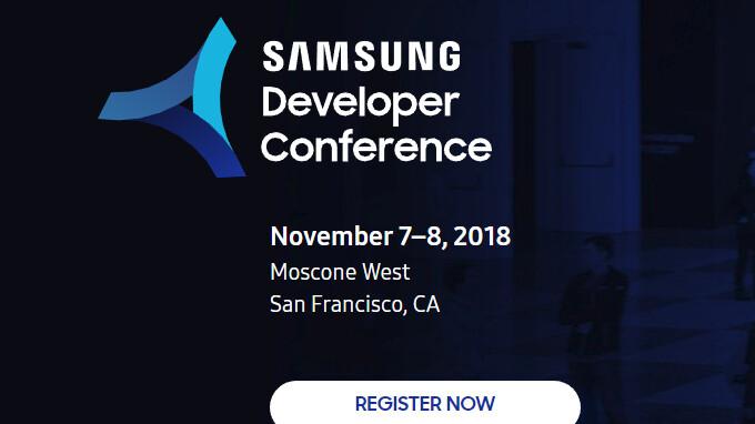 Samsung Developer Conference 2018 Frühbucherregistrierungen gehen live