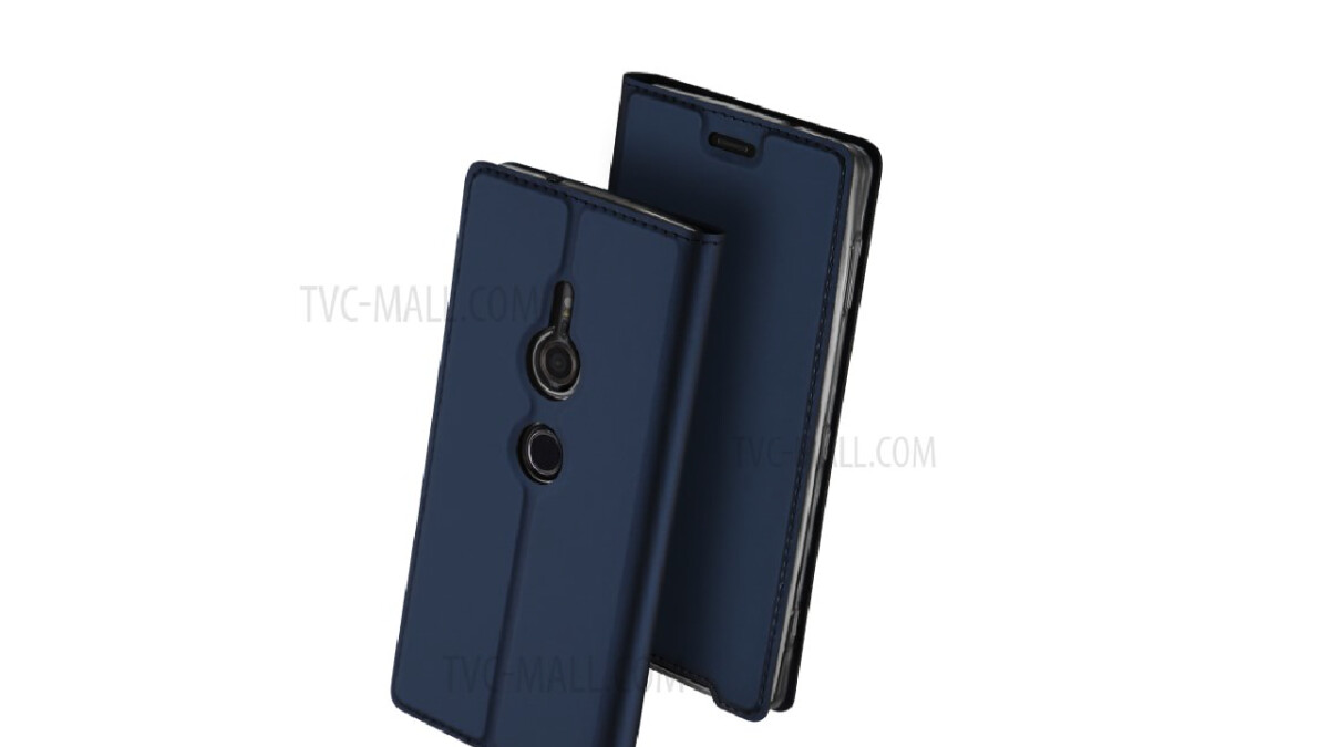 Xperia XZ3 cases show off tall display & single rear camera once again