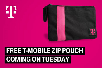 T-Mobile is giving subscribers a free zip-pouch and more this coming Tuesday