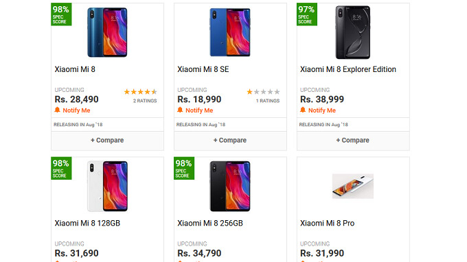 Will Xiaomi End Up Competing Against Itself In India The Poco F1 Will Launch Next Week Followed