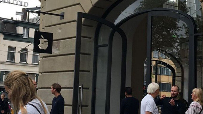 Apple store in Amsterdam evacuated and three staff treated 'after iPad explodes'