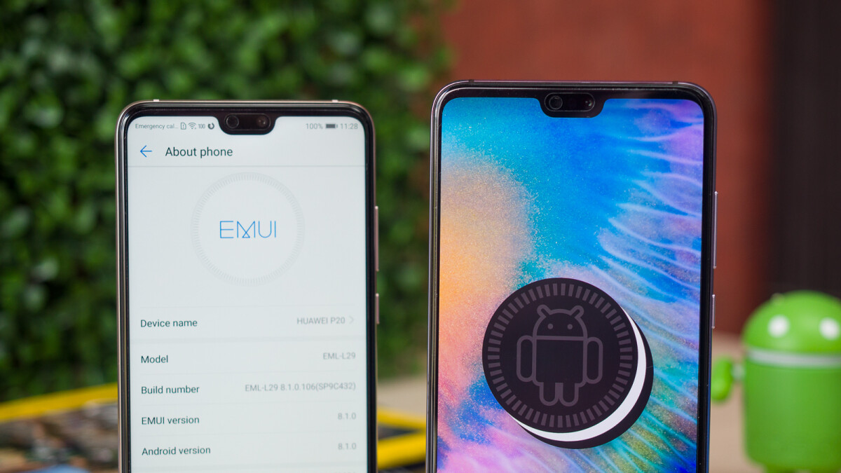 android pie huawei p20 lite