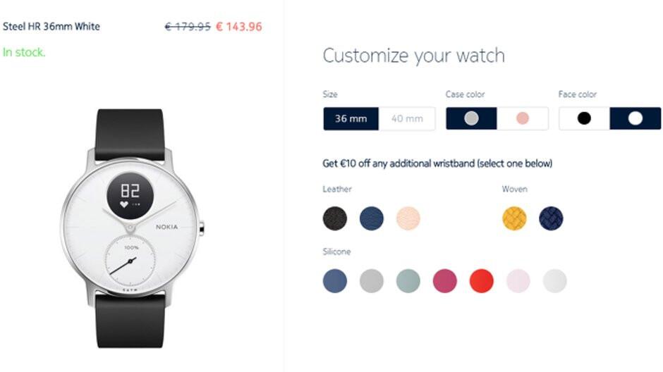 Deal: Nokia Steel HR hybrid smartwatch is on sale for 20% off