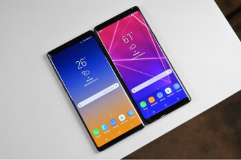 Beat by the older sibling: people would rather buy the Galaxy Note 8 over the Note 9
