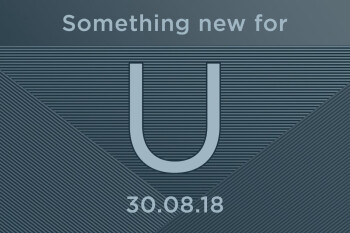 HTC will announce the latest addition to its U line on August 30th