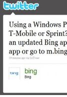 Bing app gets updated for Windows Phones on AT&T, Sprint, and T-Mobile