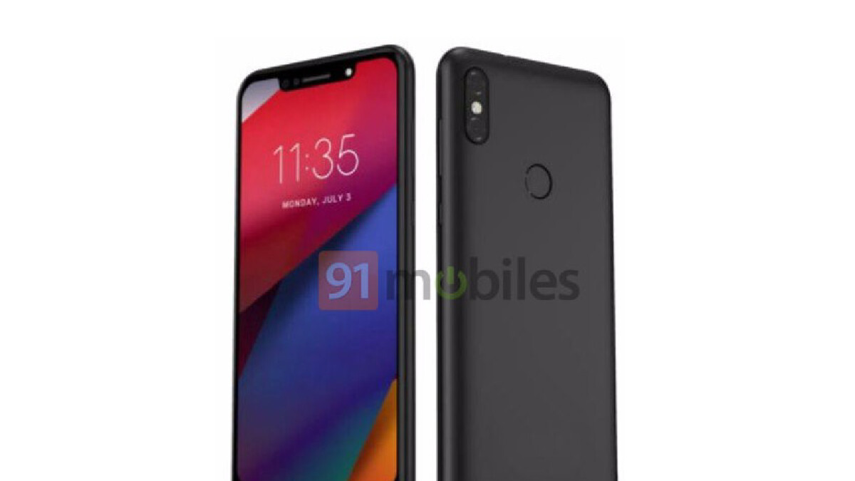 Motorola One Power official specs and feature list pop up alongside render