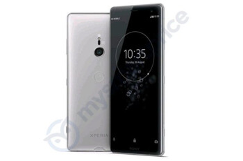 Sony Xperia XZ3 leaked press render shows off traditional display, glass-metal combo build