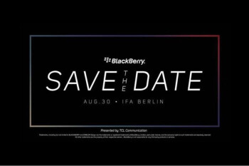 Here is a new BlackBerry KEY2 LE teaser before its unveiling at IFA 2018