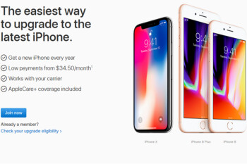 T-Mobile now allows subscribers to join Apple's iPhone upgrade program online