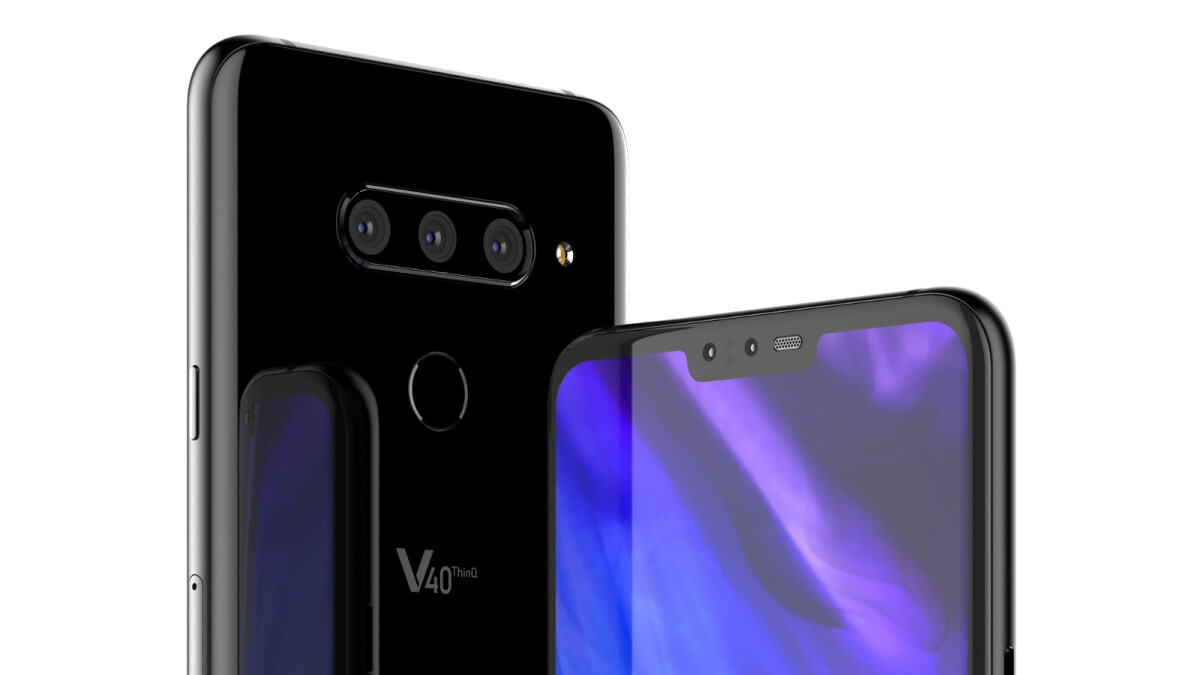 New LG V40 renders leak out - this could be one of the largest LG