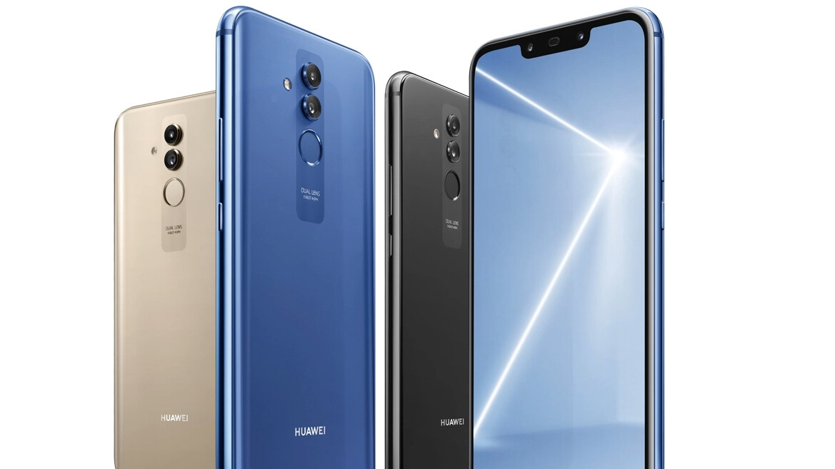 Mate 20 Lite already up for sale with a full specs sheet, check out Huawei's new design