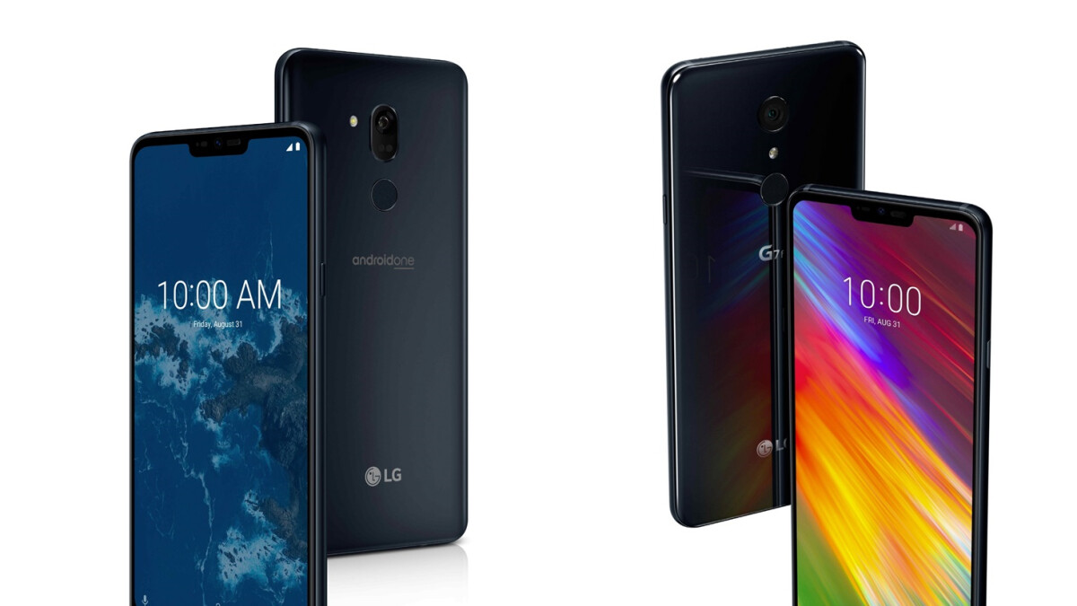 LG announces two cheaper versions of the G7, including the company's first Android One phone