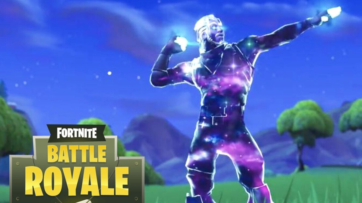Fortnite fans are stealing the Galaxy skin from Note 9 demo