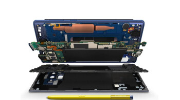 Samsung tired of people tearing into the Note 9 cooling, shows us exactly where the carbon is
