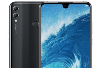 Honor 8X Max press renders confirm tiny notch, reveal color options