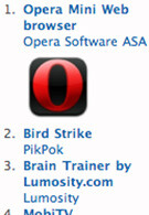 Opera Mini conquers the App Store globally in less than 3 days