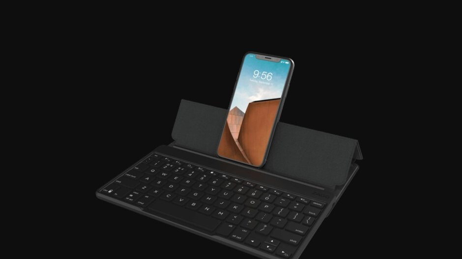 Zagg Flex universal keyboard and stand pairs with tablets, smartphones, and even smart TVs