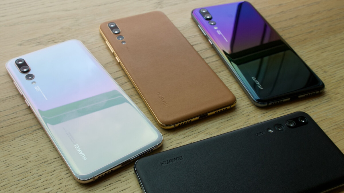 Huawei P20 Pro gets two stunning new gradient color versions, two models with a leather back