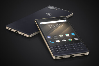 BlackBerry Key2 LE announced: looking pretty in red! (...and champagne, and black)