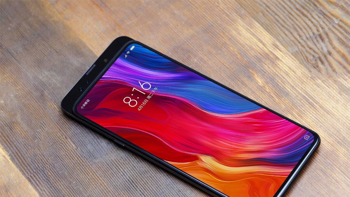 Insane Xiaomi Mi Mix 3 bezel-less design revealed, launches in October