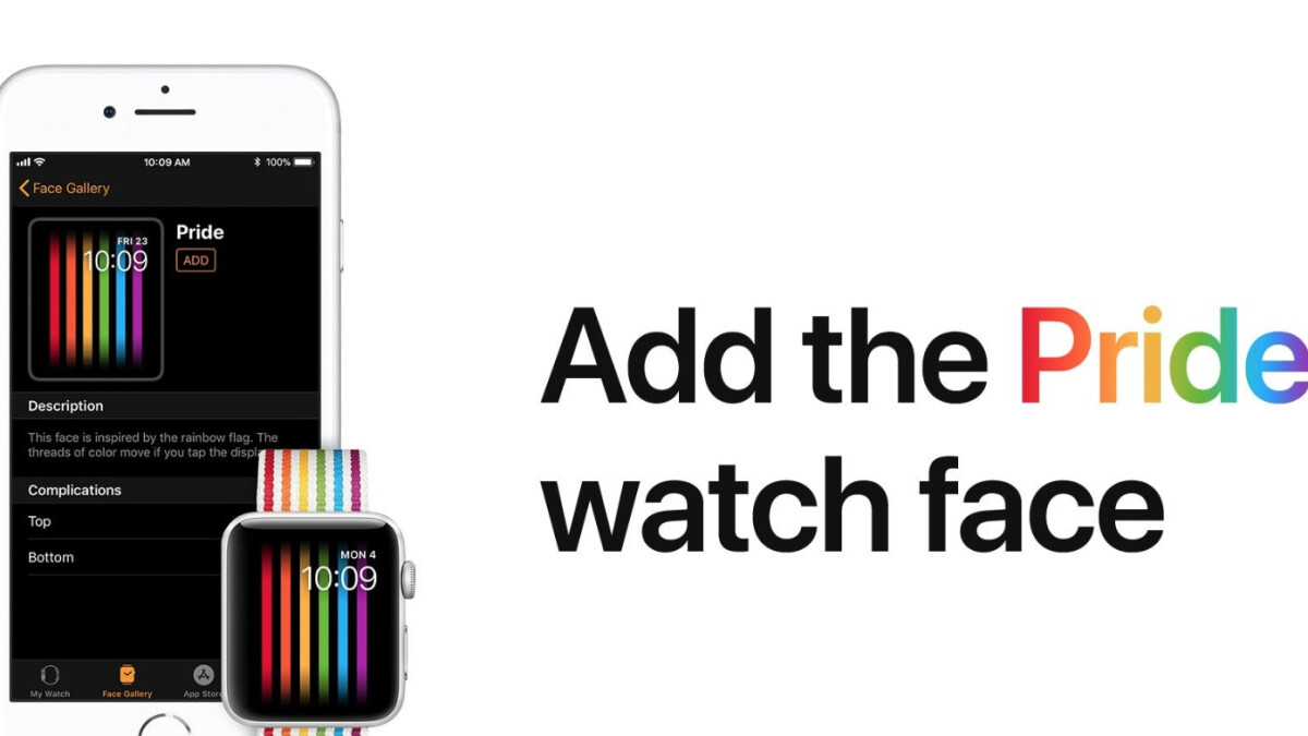 Apple Watch Pride face doesn't seem to work in Russia, and not due to any bug