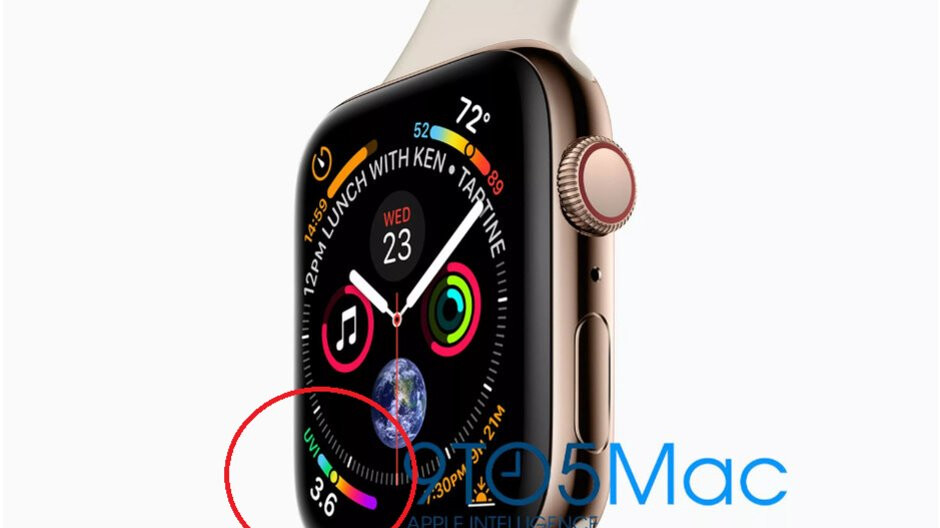Apple Watch Series 4 will let you know if you need to apply sun screen before going out