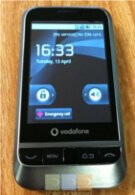 First actual images of the Android 2.1 powered Vodafone 845 surfaces