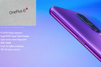 Leaked OnePlus 6T box hints at the end design and specs sheet