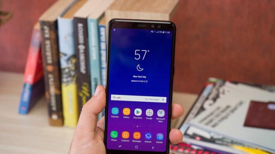 Apparent Galaxy A8+ (2018) successor receives FCC certification