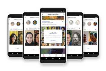 Google is launching Art Selfie – match your selfie to famous works of art