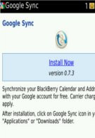 Google Sync for BlackBerry gets updated to version 0.7.3