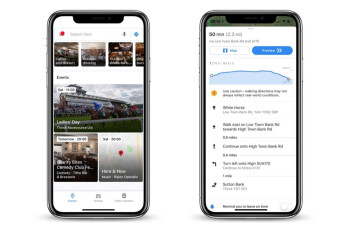Latest Google Maps update introduces New Events section, elevation data for walking and cycling