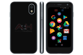Palm's tiny Android phone pops up again in another leaked render