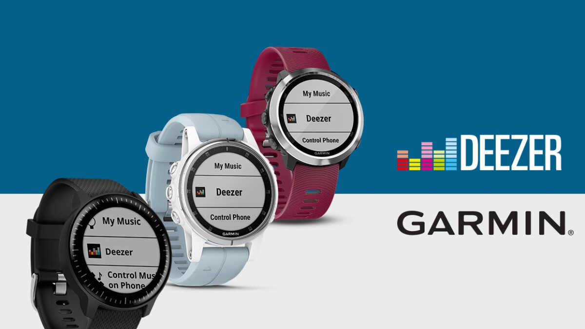 Deezer support officially arrives on Garmin Vivoactive 3 Music, Forerunner 645 Music, and Fenix 5 Plus series